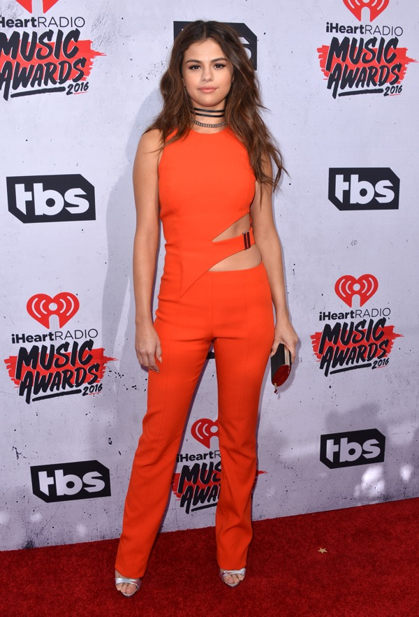 Selena Gomez attends the iHeartRadio Music Awards at The Forum on April 3, 2016 in Los Angeles, CA, USA. Photo by Lionel Hahn/Sipa USA (Sipa via AP Images)