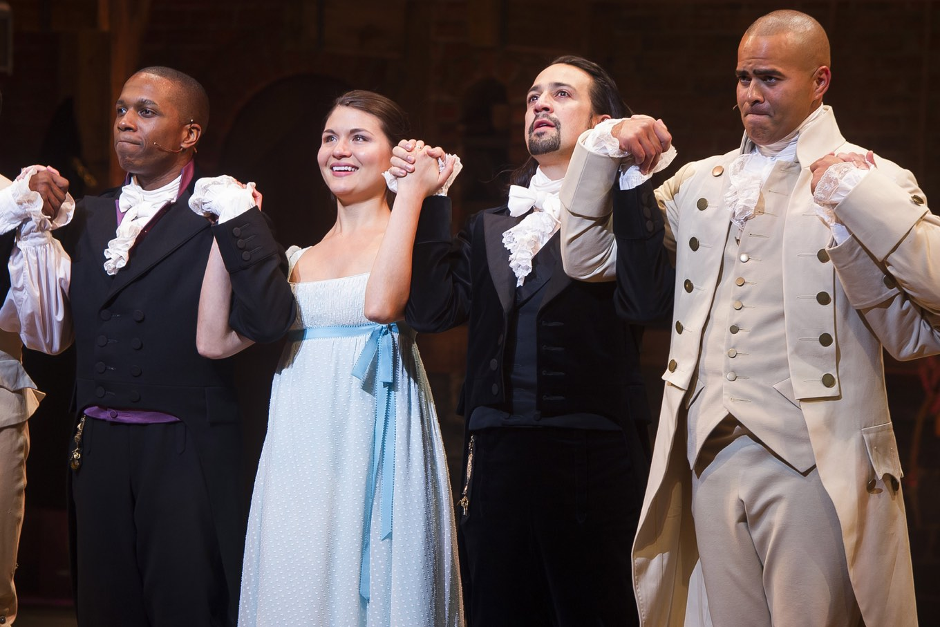 American History Gets Inspiring Hip Hop Makeover in Broadway Hit Hamilton