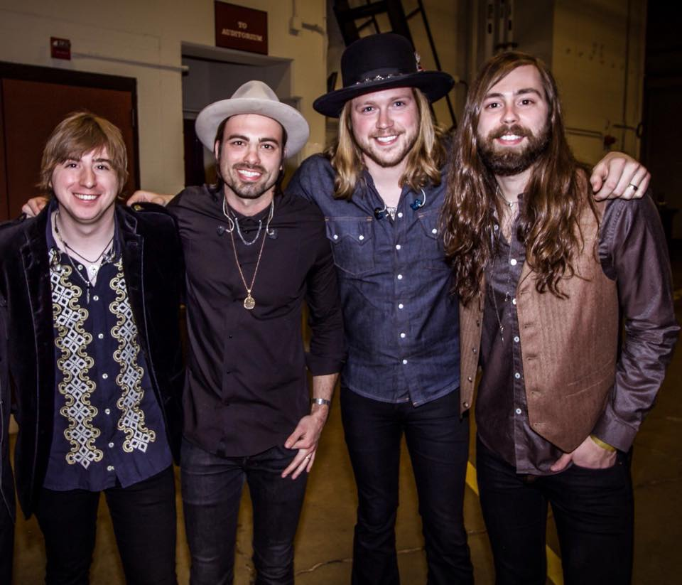 A Thousand Horses Opry BackStage