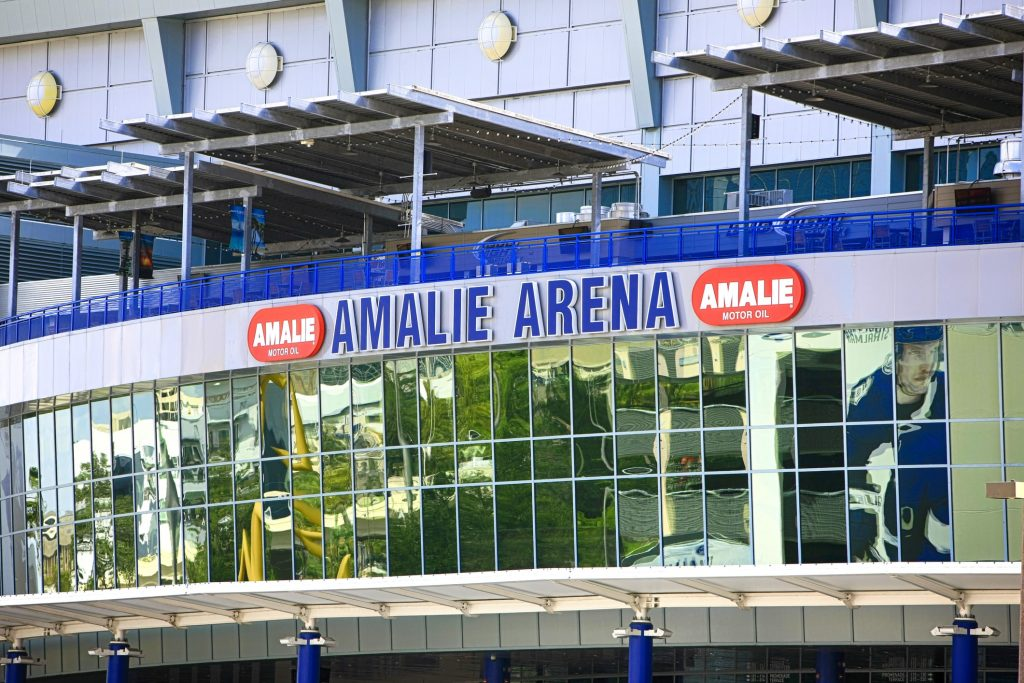 Step Inside Amalie Arena In Tampa Bay