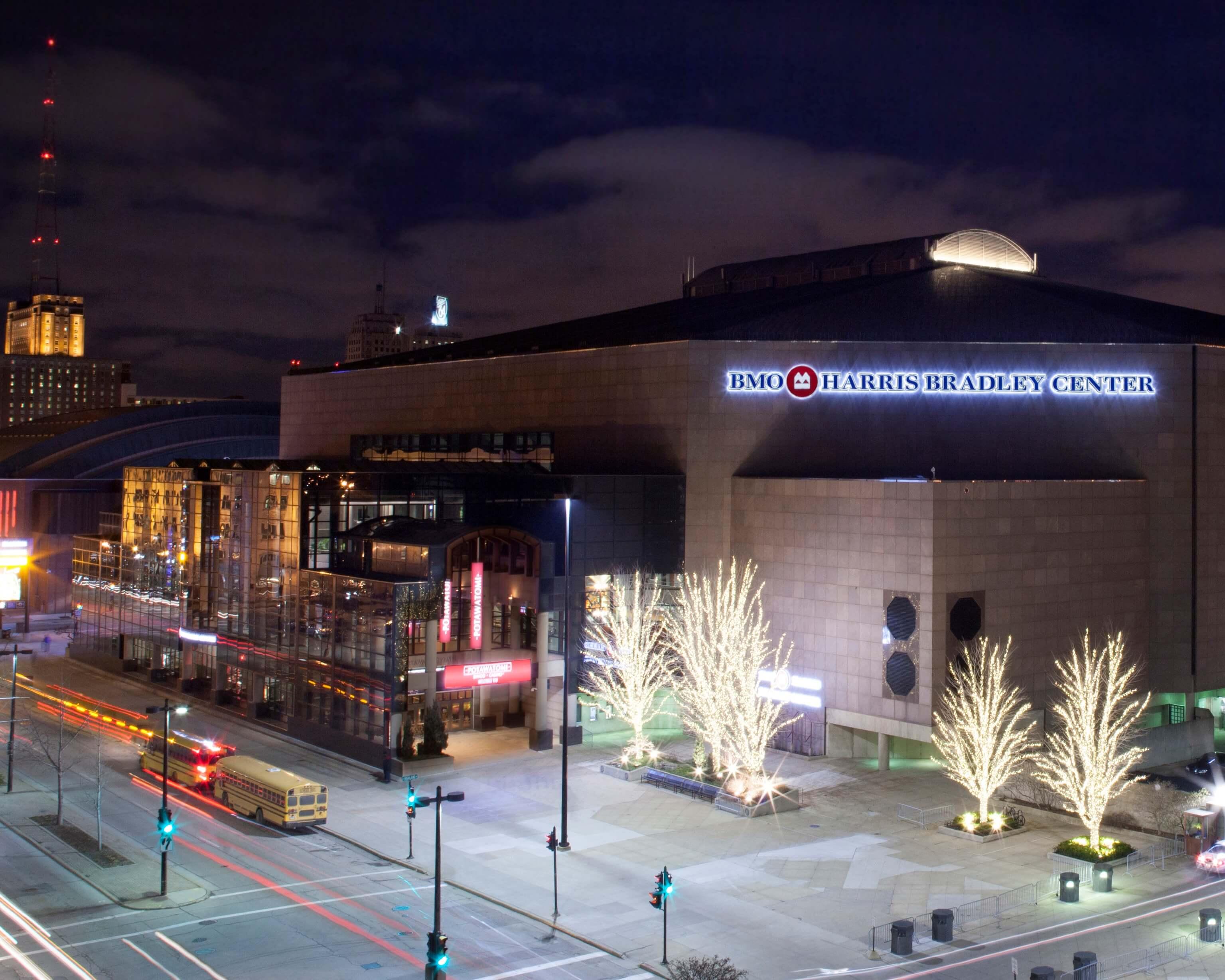 BMO Bradley Center Milwaukee Bucks NBA Arenas & Venues Ticketmaster
