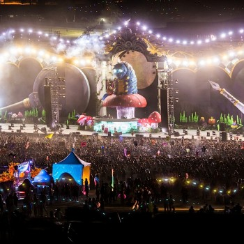 Epic Timelapse Video from Beyond Wonderland EDM Festival