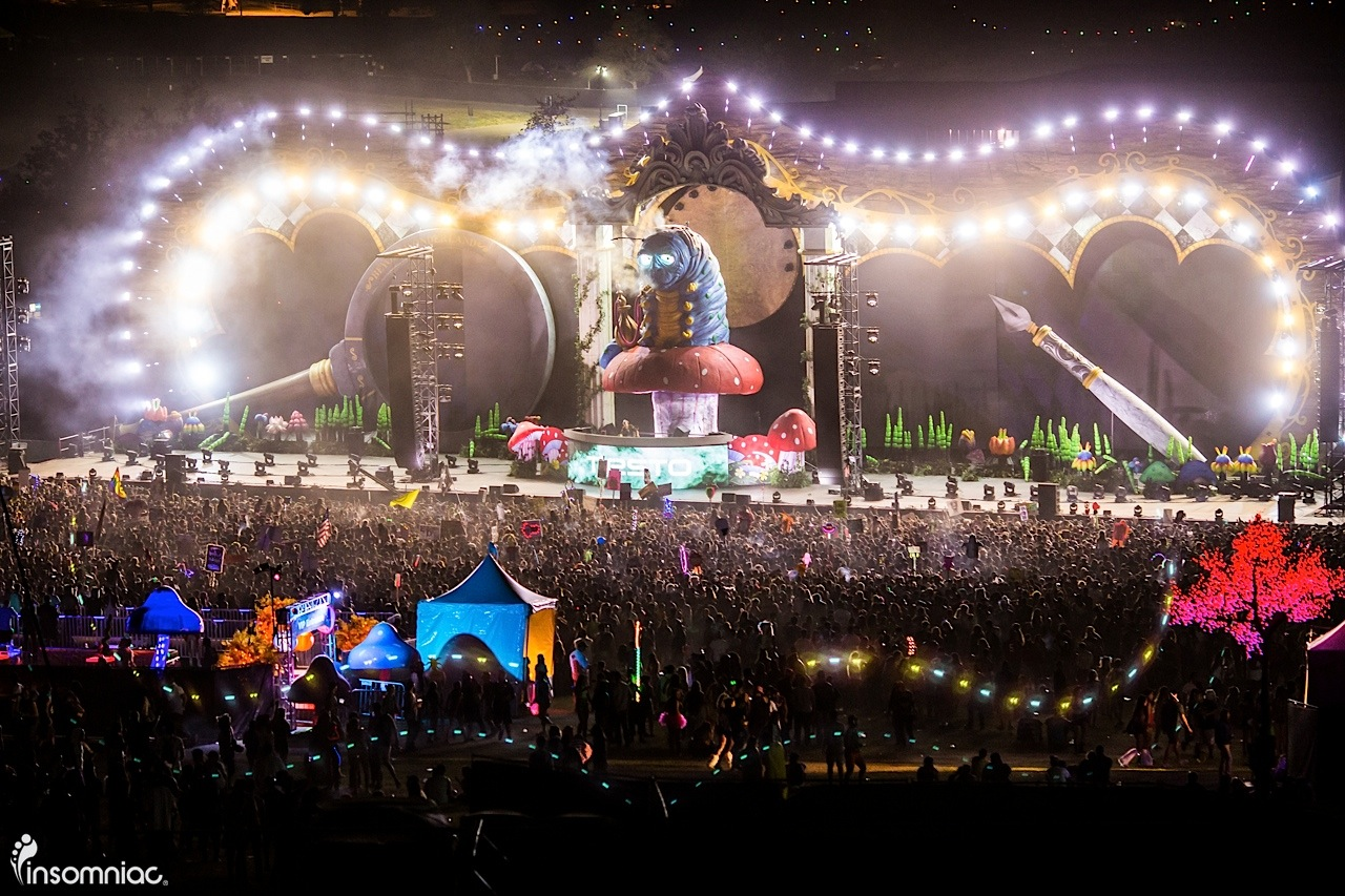 beyond wonderland socal 2015 edm music festival Tiësto