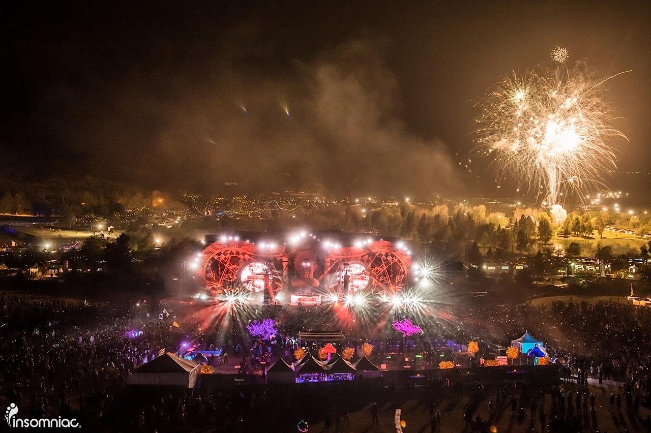 beyond wonderland socal 2015 edm music festival Hardwell, Fireworks