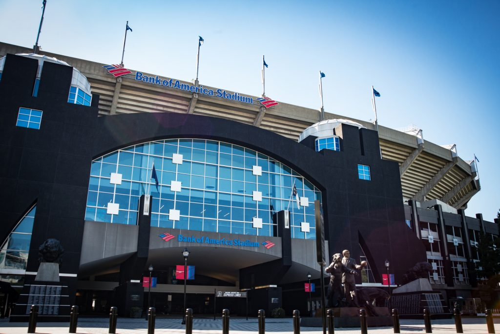 Carolina Panthers Home Schedule 2019 Seating Chart