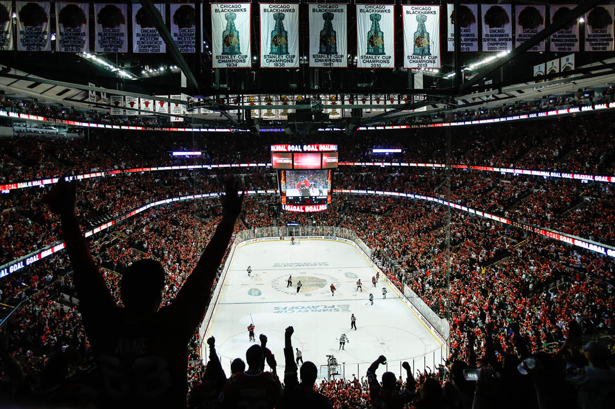 Chicago Blackhawks United Center NHL Venues & Arenas Ticketmaster