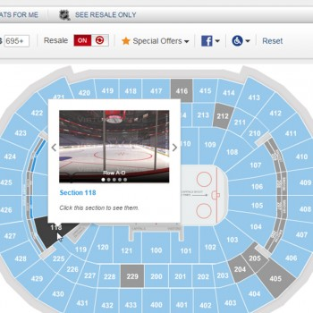 Zero In On The Seats You Want With Ticketmaster Interactive Seat Maps