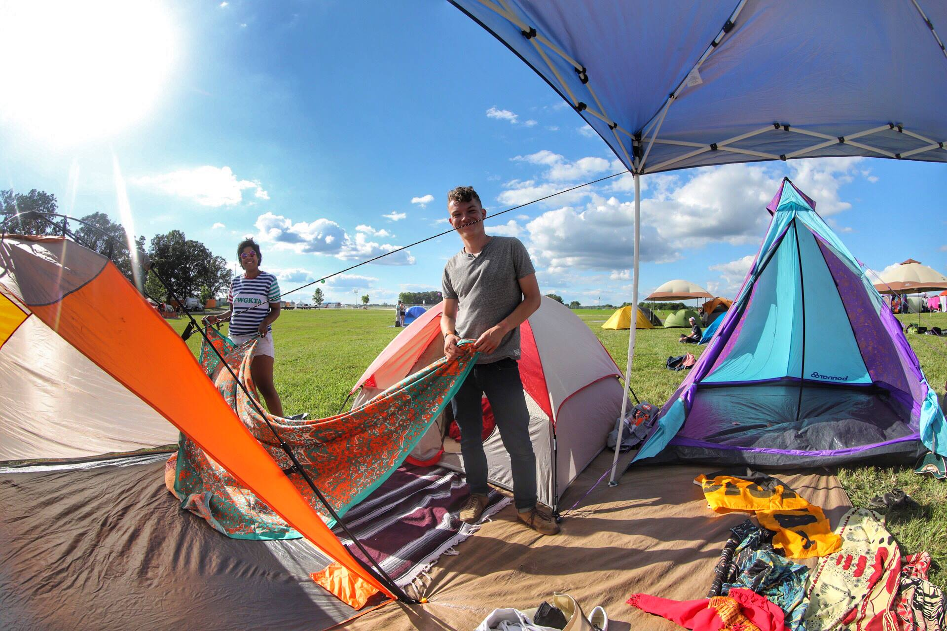 Camping Music Festivals - The Comprehensive Guide & Packing List