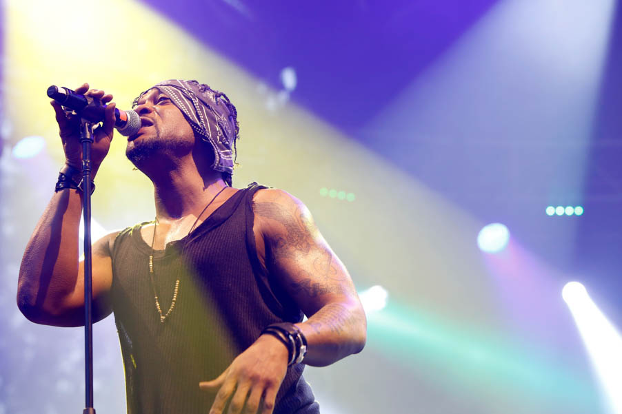 Musician D'Angelo performs at the Sutro Stage during day 1 of the 2015 Outside Lands Music And Arts Festival at Golden Gate Park on August 7, 2015 in San Francisco, California.  (Photo by: FilmMagic/FilmMagic)