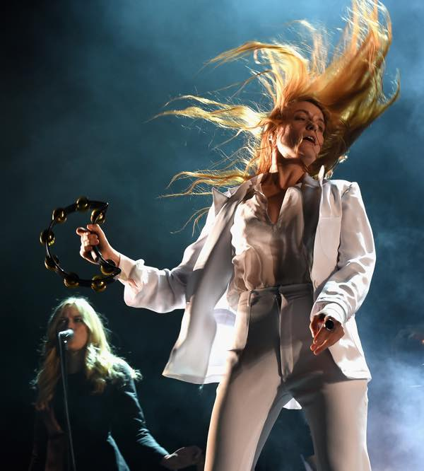 Florence + the Machine at Coachella 2015. (Photo by: Getty)