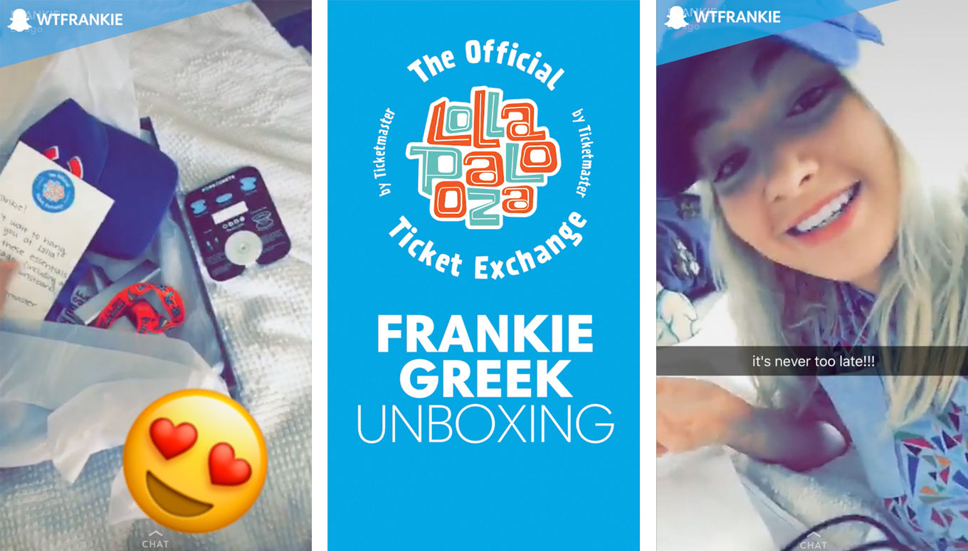 RECAP: Frankie's Wristband Unboxing   Official Lollapalooza Ticket Exchange