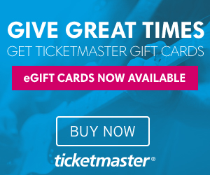 Ticketmaster Gift Card eGift Card