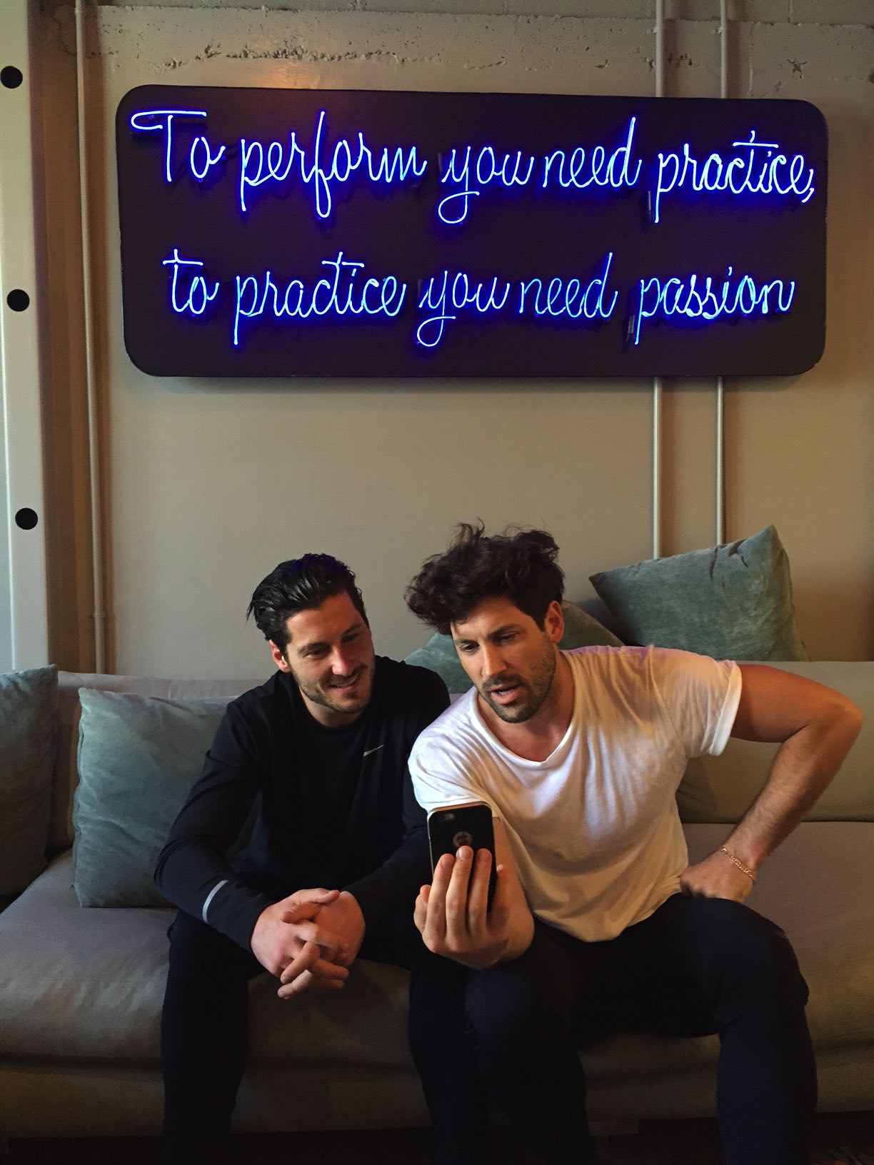 Behind The Scenes With Ballroom Dance Bros Maks And Val Chmerkovsky