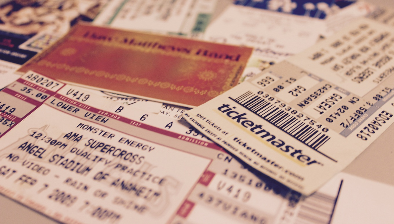 Ticketmaster Printed Tickets