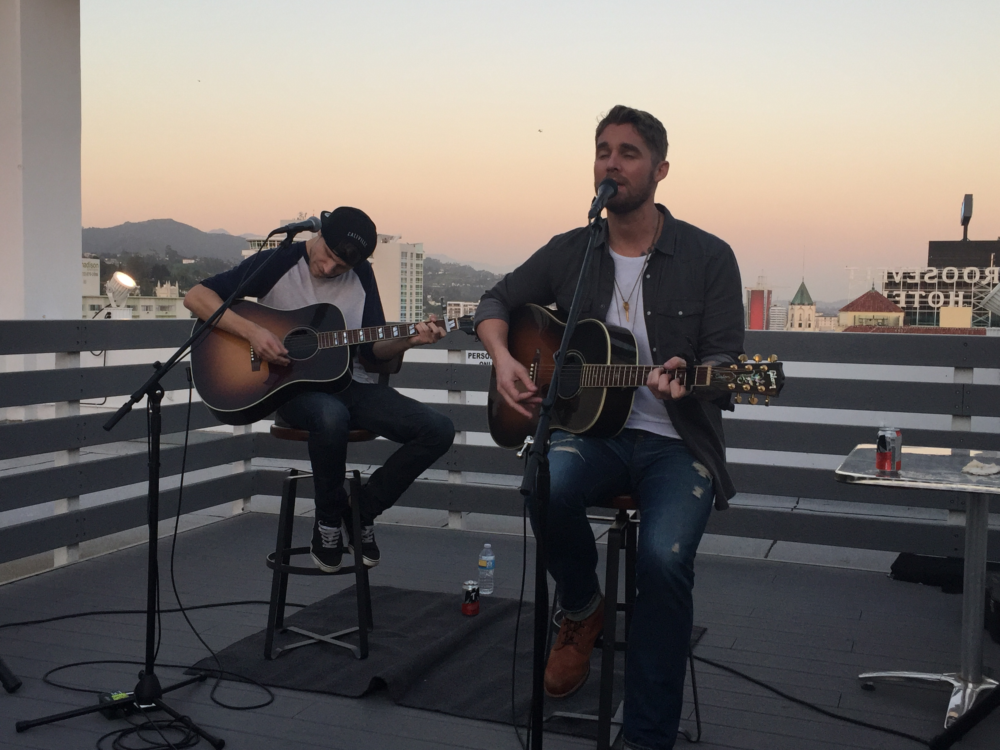 Brett Young Answers Fans Questions Before Raising The Roof