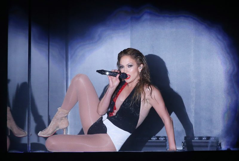 Jennifer Lopez performs onstage during the 2014 American Music Awards held at Nokia Theatre L.A. Live on November 23, 2014 in Los Angeles, California. (Photo by Michael Tran/FilmMagic)