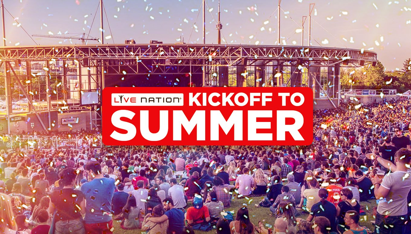 Kickoff to Summer: Save with $20 Lawn Tickets