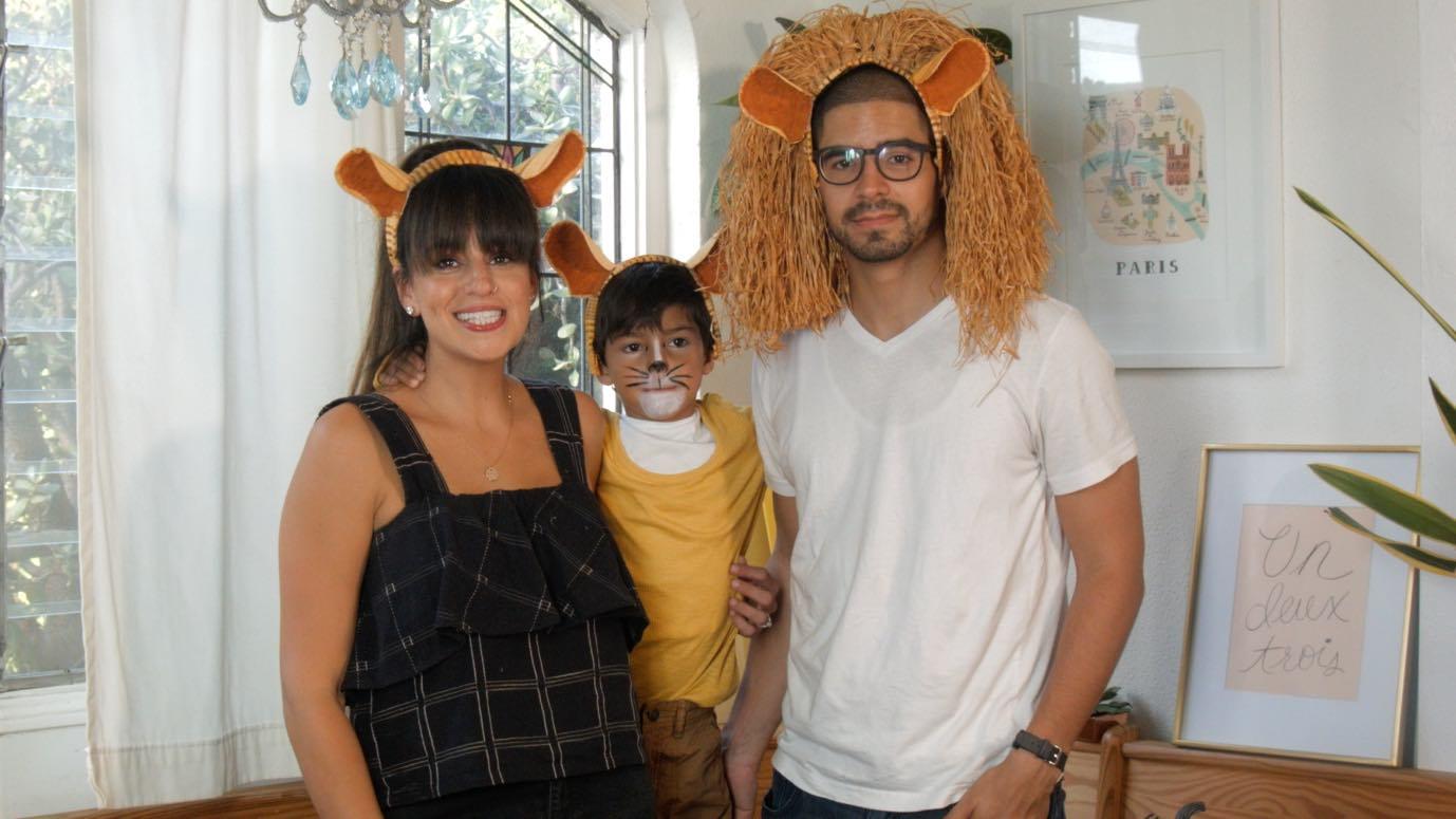 DIY Kids Halloween Costumes: Rock Stars, Lion King & Sugar Skulls, Oh My!