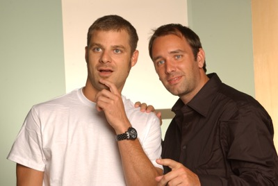 l-r: Matt Stone, Trey Parker (Photo Credit: Michael Yarish/ Comedy Central)