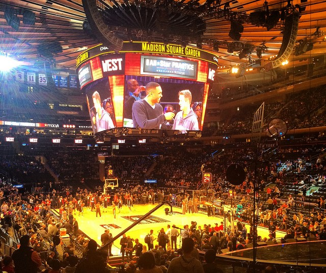 Madison Square Garden NBA Basketball Court Ticketmaster