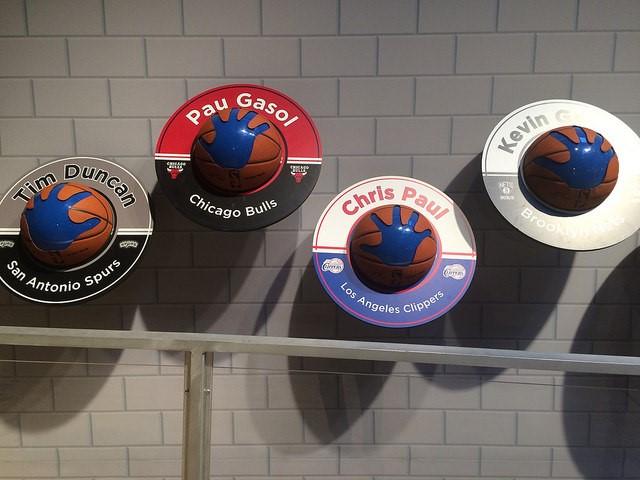 NBA Basketball Hands