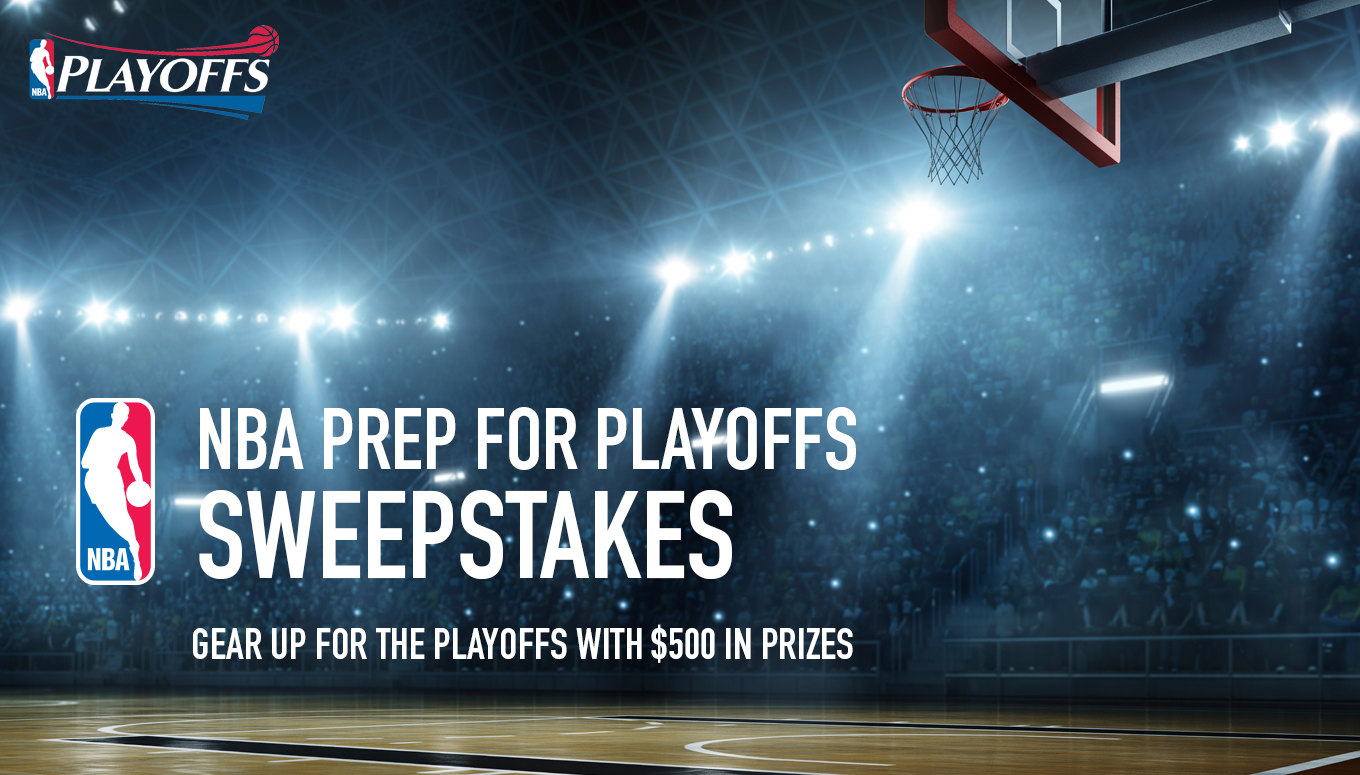 Ticketmaster NBA Prep For Playoffs Sweepstakes
