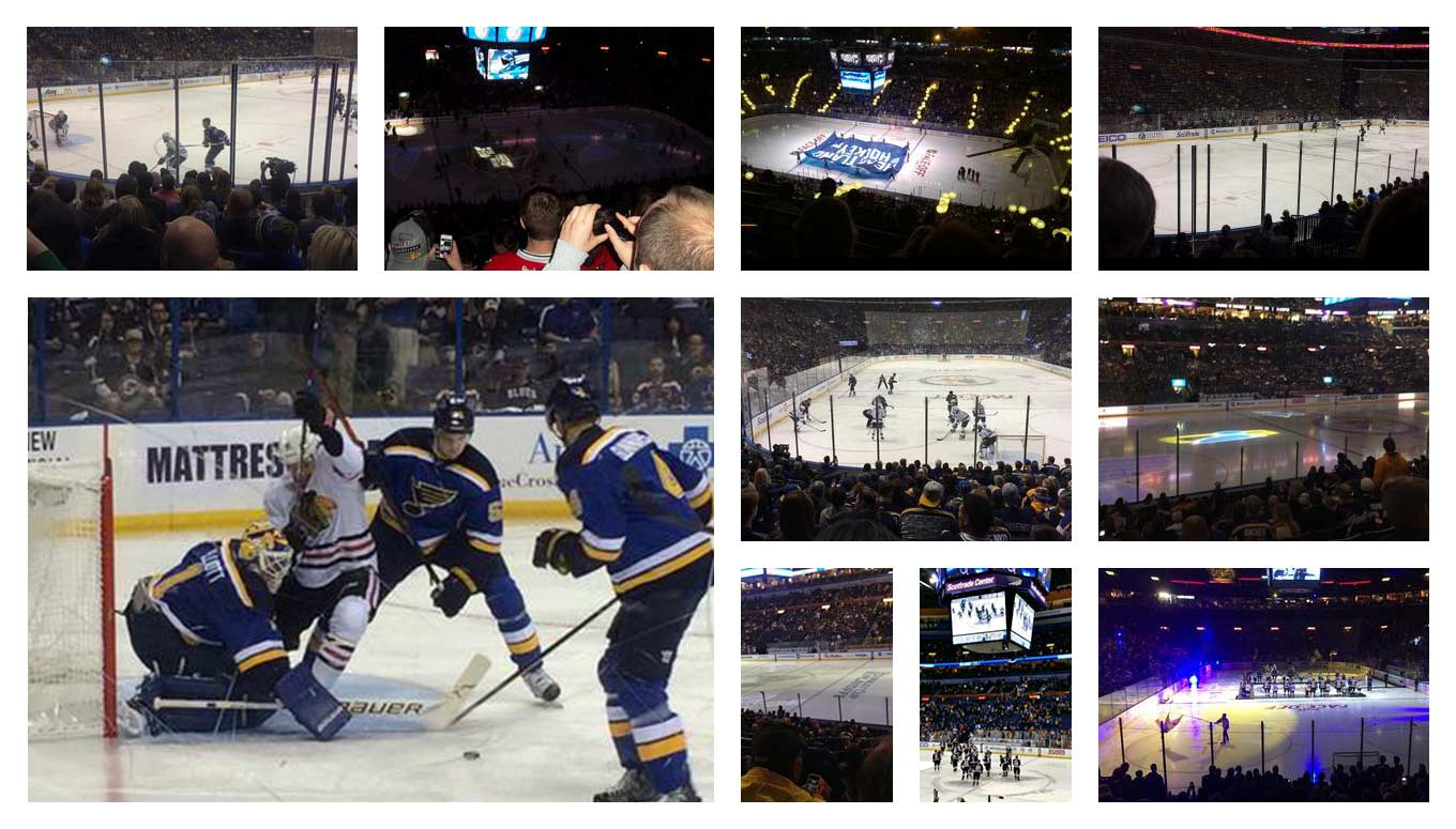 Hearing Fans Cheer is Music to the St. Louis Blues Ears