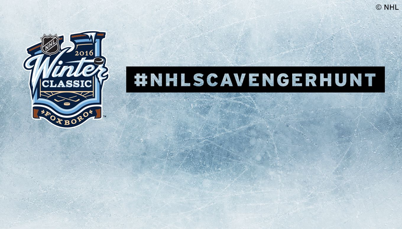 Search. Shoot. Score! Join the NHL Scavenger Hunt in Boston on 12/31 – Entry Period Closed