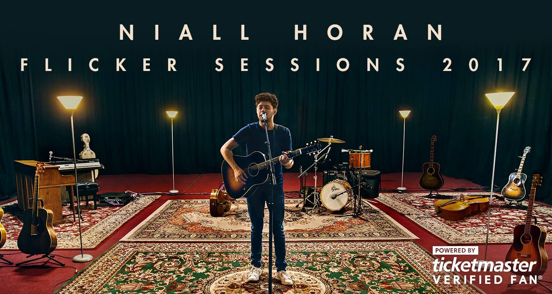 Niall Horan Flicker Sessions 2017 #VerifiedFan Onsale FAQ