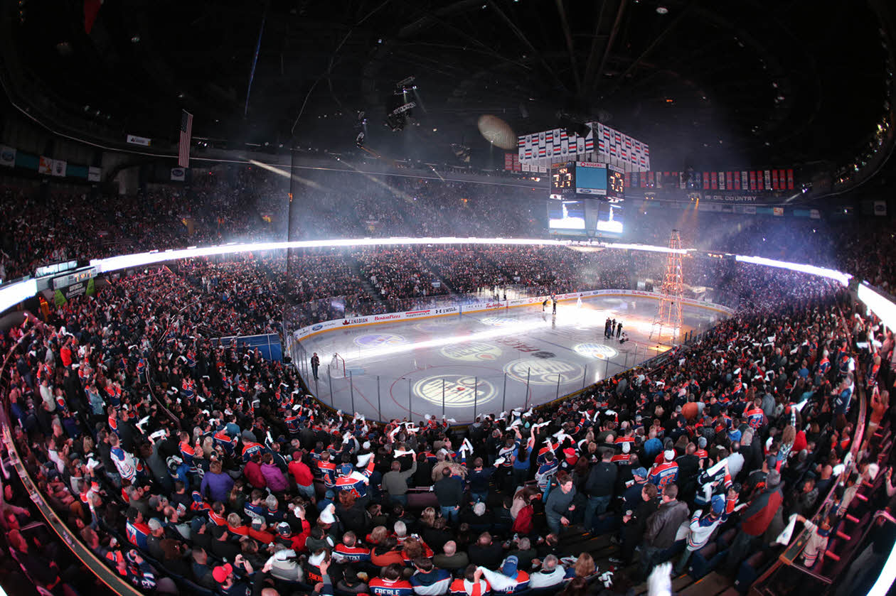 Rexall Place Edmonton Oilers hockey game NHL Venues & Arenas Ticketmaster