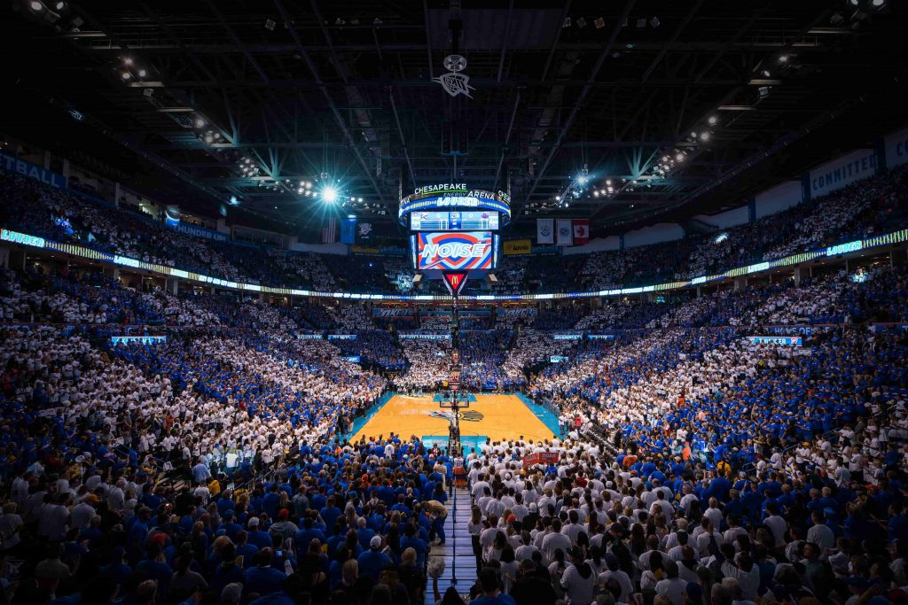 Oklahoma City Thunder Home Schedule 2019 20 Seating Chart