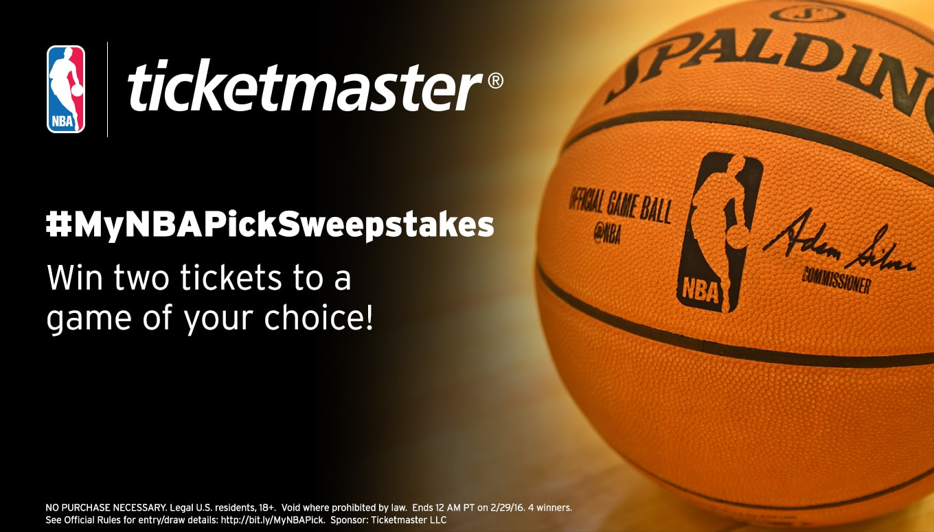 Attention NBA Fans: Enter for a Chance to WIN tickets – Entry Period Closed
