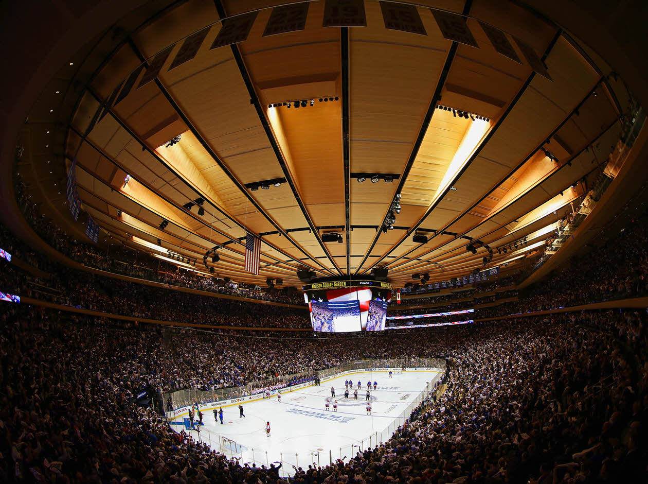 Nhl venues that hockey fans should know hockey arenas for Ticketmaster madison square garden