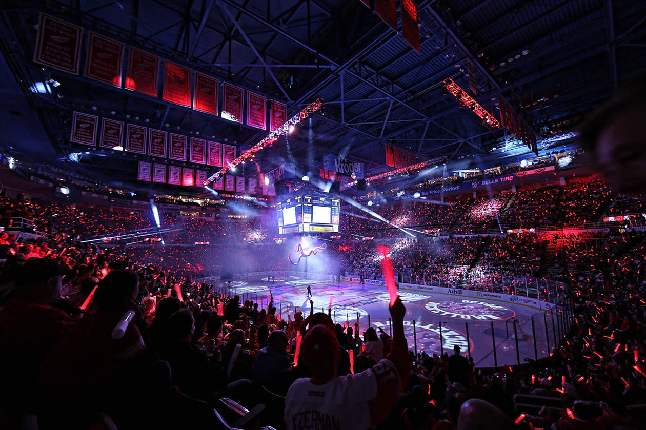 Red Wings Bowl Playoffs Joe Louis Arena Detroit, MI NHL Venues & Arenas Ticketmaster