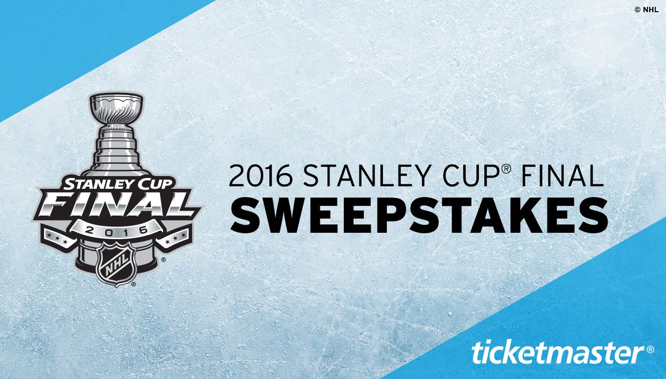 Win Tickets to the 2016 Stanley Cup® Final – Entry Period Closed
