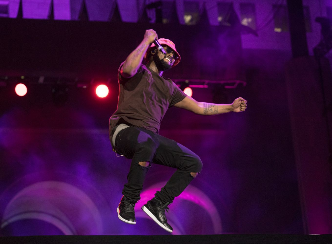 ScHoolboy Q performs at Made in America LA 2014 (Photo by: Kayla Merrill)
