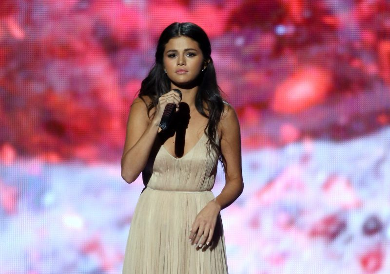 Recording artist Selena Gomez performs onstage during the 2014 American Music Awards held at Nokia Theatre L.A. Live on November 23, 2014 in Los Angeles, California. (Photo by Michael Tran/FilmMagic)