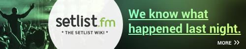 Visit setlist.fm