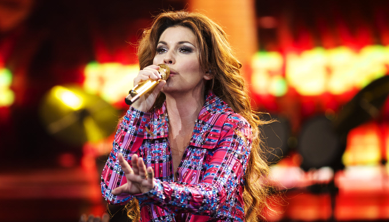 10 Shania Twain Music Videos to Get You Excited for the Rock This Country Tour