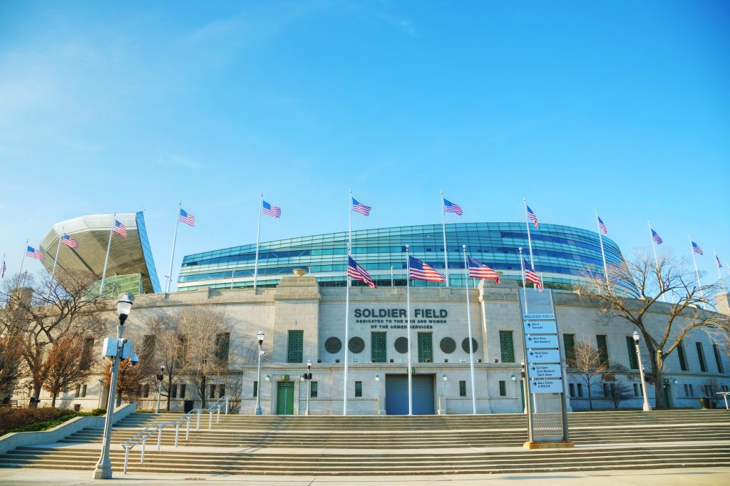 Chicago Bears Home Schedule 2019 Seating Chart Ticketmaster Blog