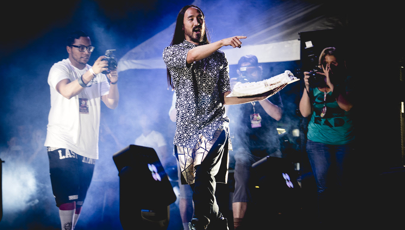 From the Ticketmaster Archives: Steve Aoki Interview in 2008