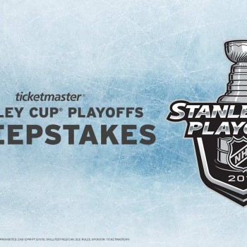 Ticketmaster Stanley Cup Playoffs Sweepstakes - Entry Period Closed