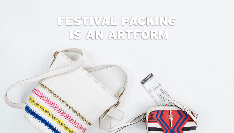 Festival Packing is an Artform