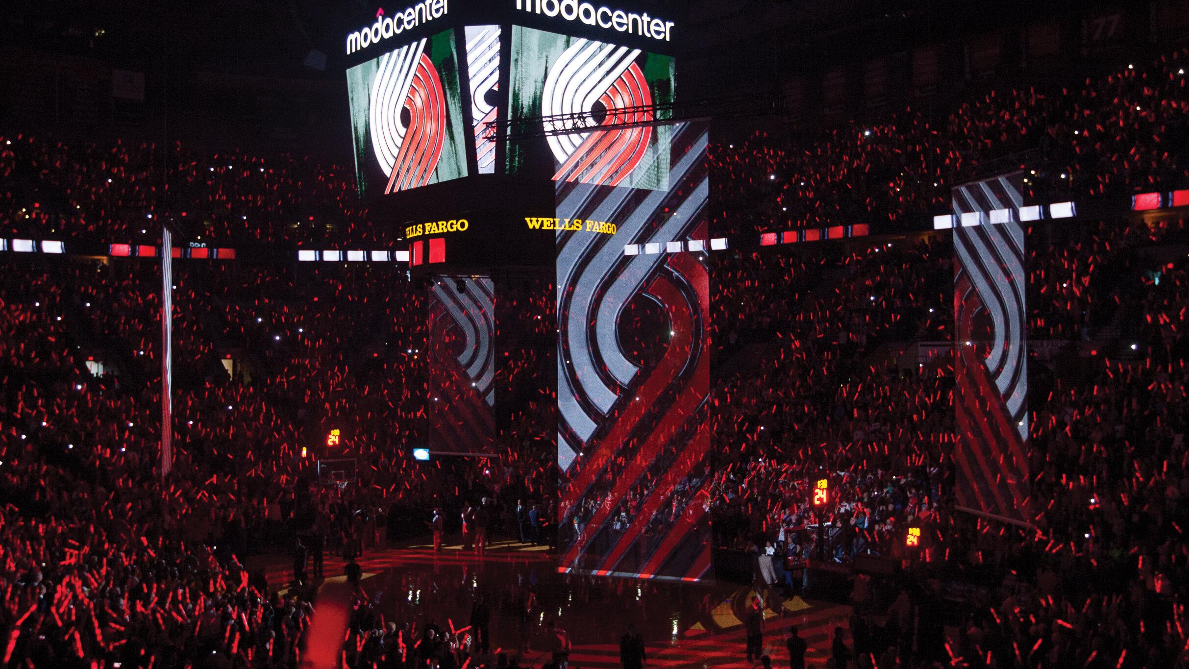 Moda Center Rose Garden Portland Trailblazers NBA Arenas & Venues Ticketmaster