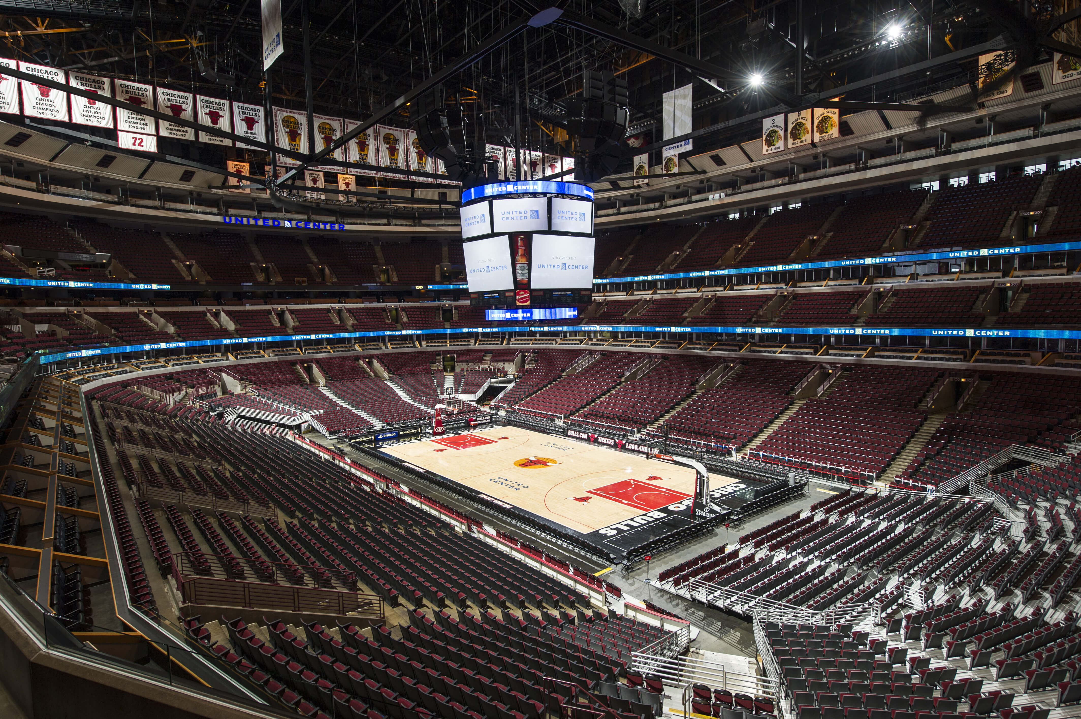 United Center Chicago Bulls NBA Arenas & Venues Ticketmaster