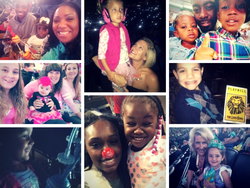 Pics taken by fans at family events and submitted to Ticketmaster Fan Reviews. (Photos by Ticketmaster members: osufanz, 503momma, happytoddlermama, suzy763, shaw376, shroyermom)
