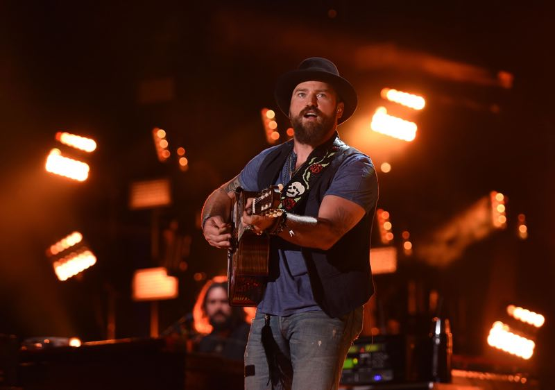 Zac Brown performs at LP Field during the 2015 CMA Festival on June 12, 2015 in Nashville, Tennessee. (Photo by: C Flanigan /Getty)