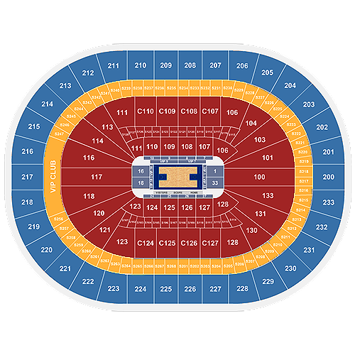 Cleveland Cavaliers Home Schedule 2019 20 Seating Chart Ticketmaster Blog