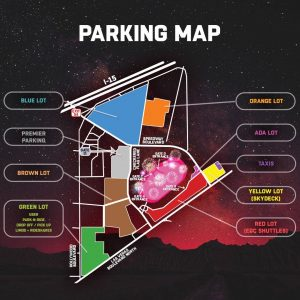 edc parking