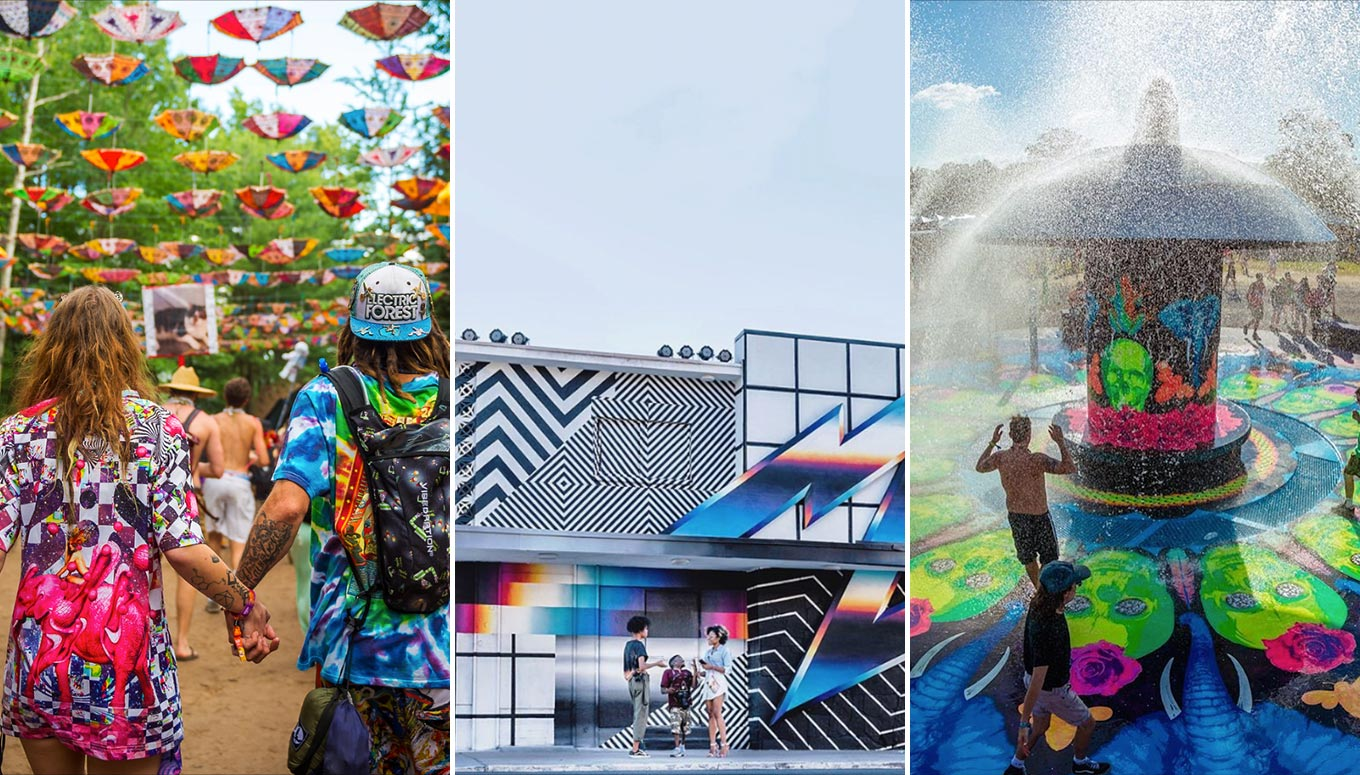 10 Spectacular Music Festival Art Installations That'll Amaze You